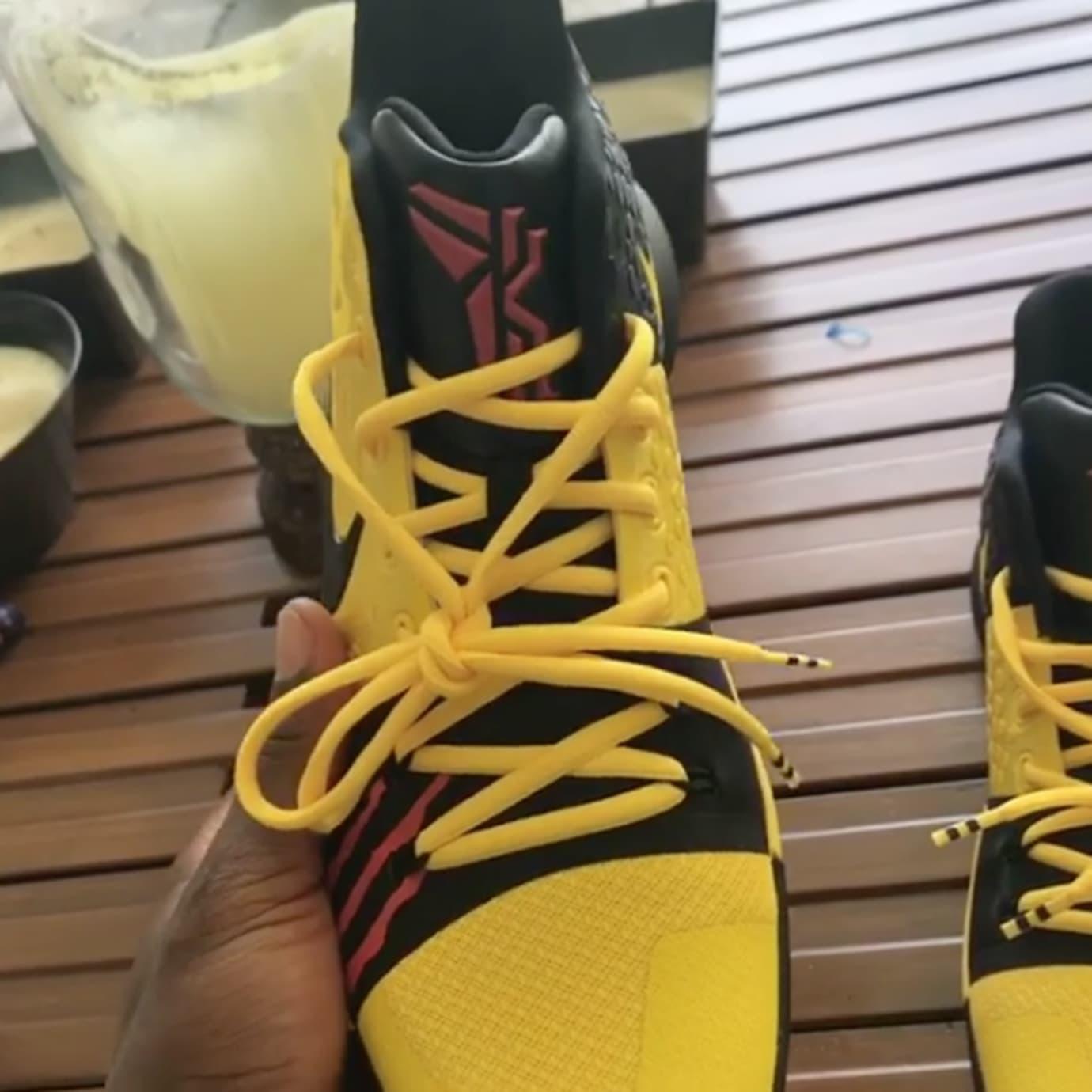 premium selection 2c53c cef3a Image via Kyrie Irving on Instagram Bruce Lee Nike Kyries