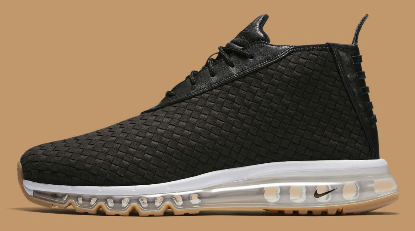 separation shoes 29906 80843 Nike Air Max Woven Boot Black Gum Release Date Profile 921854-003