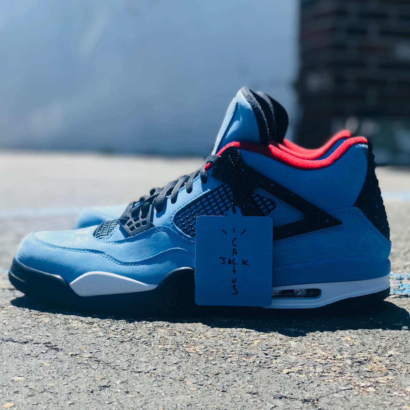 Travis Scott x Air Jordan 4  Houston Oilers  308497-406 Release Date ... 736c24a80