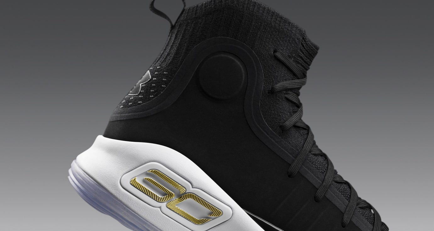 Under Armour Curry 4 'More Dimes' (Heel)