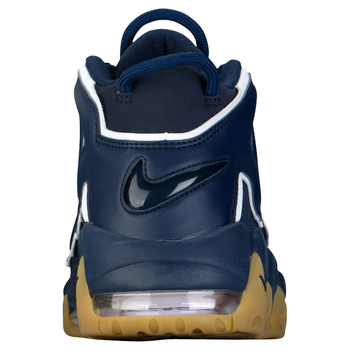official photos 9df77 a436b Nike Air More Uptempo Obsidian Gum Release Date Heel 921948-400
