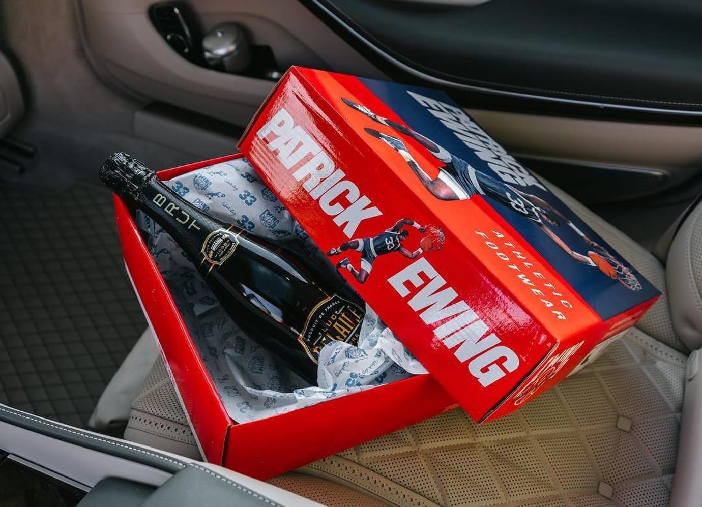 Rick Ross x Ewing 33 Hi Release Date Box