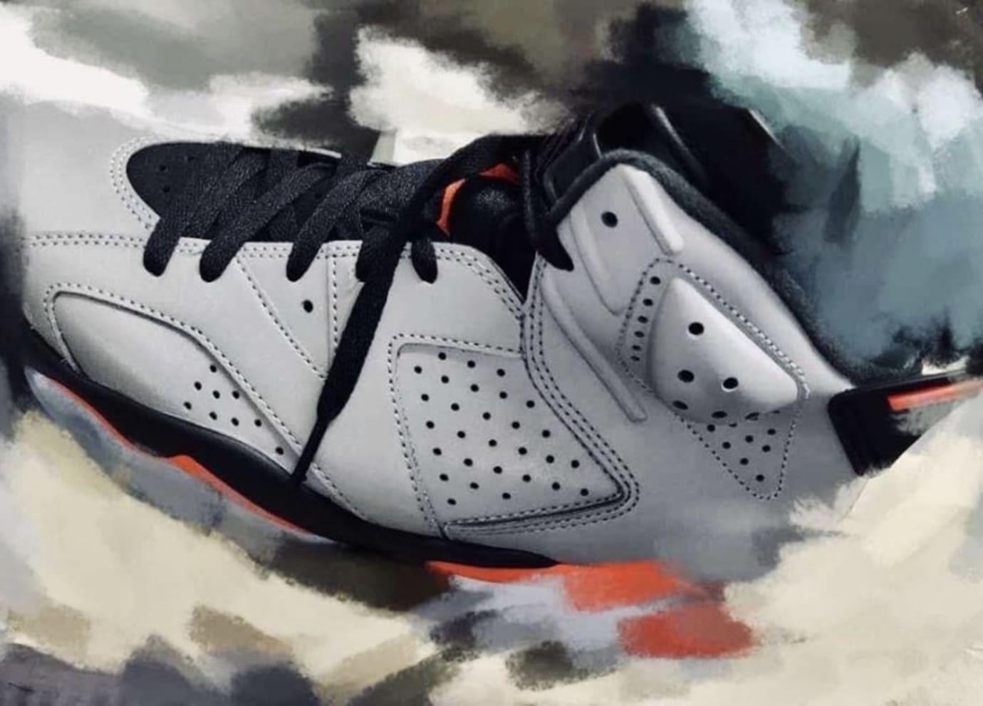 Image via sneakerjamz · Air Jordan 6 PSG Release Date First Look 366221511