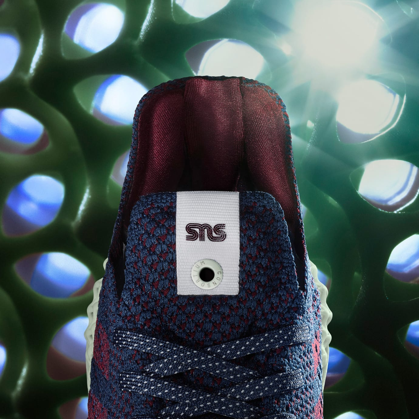 Sneakersnstuff x Adidas Consortium 4D B96533 (Tongue)
