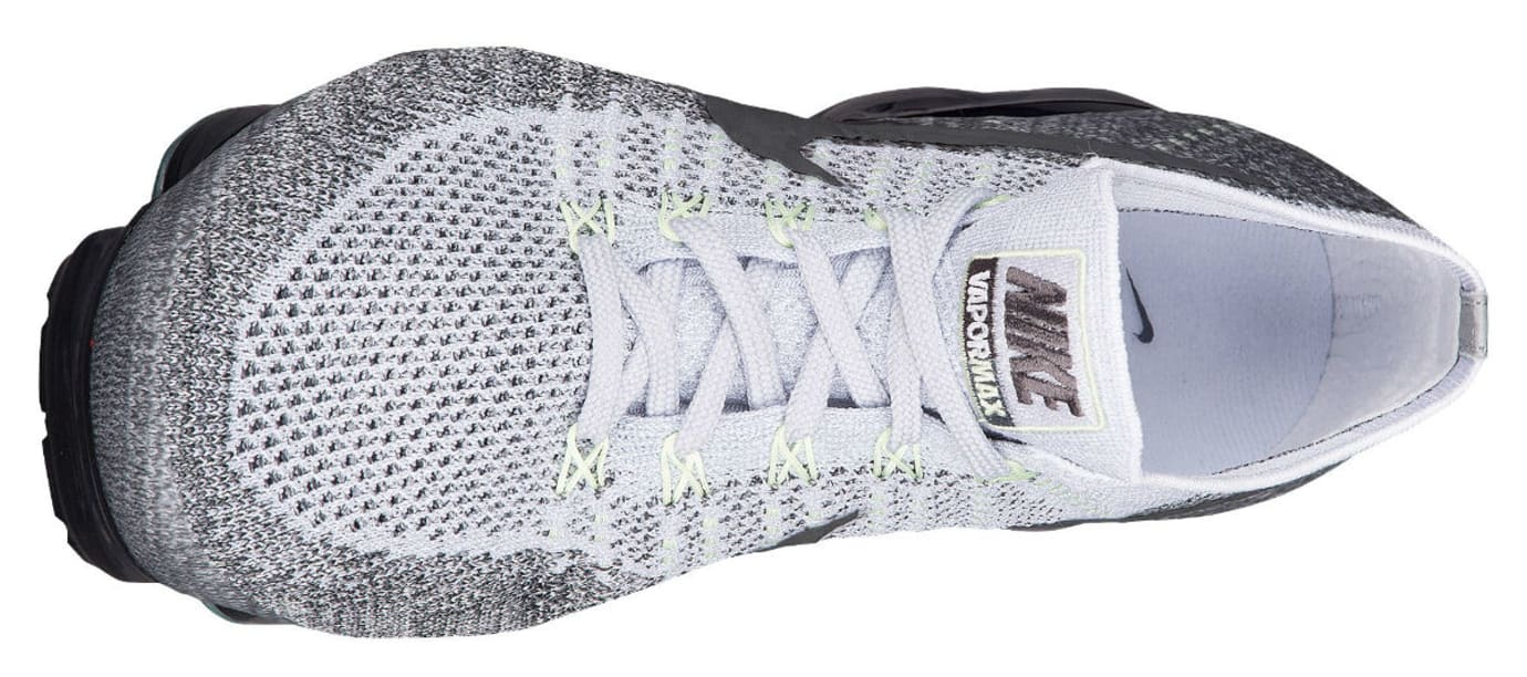 info for 84196 ba245 Nike Air VaporMax Flyknit Heritage Pack Pure Platinum White Dark Grey  Release Date 922915-002