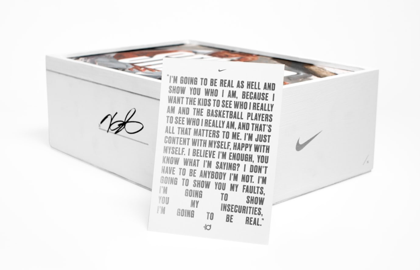 Still Nike KD 10 Box