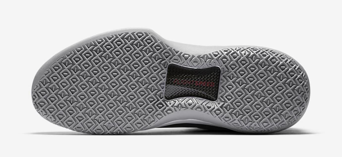 Air Jordan 32 MVP Black Cement AA1253-002 Sole