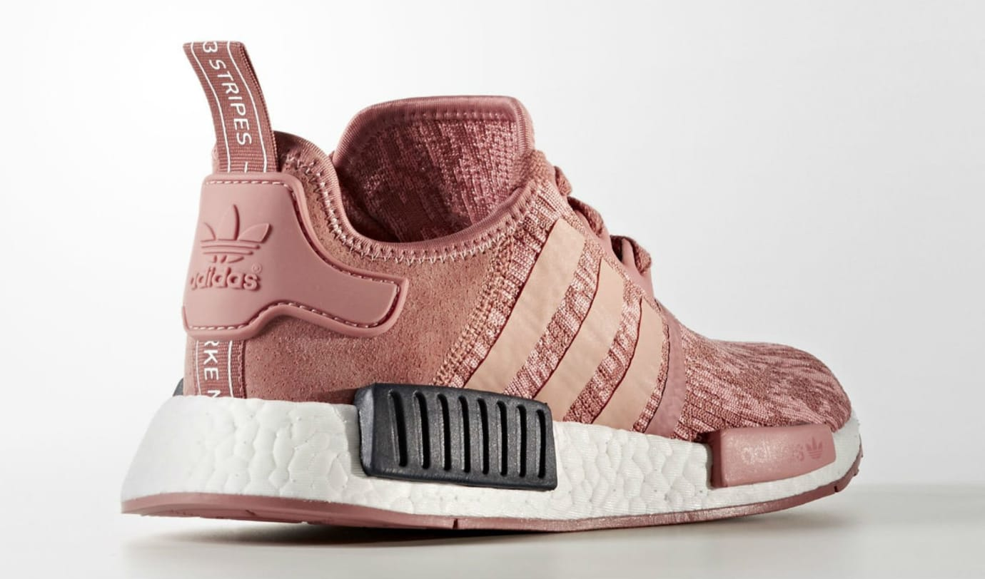 aea1e90ed Adidas NMD R1 Primeknit Raw Pink Release Date Lateral BY9648