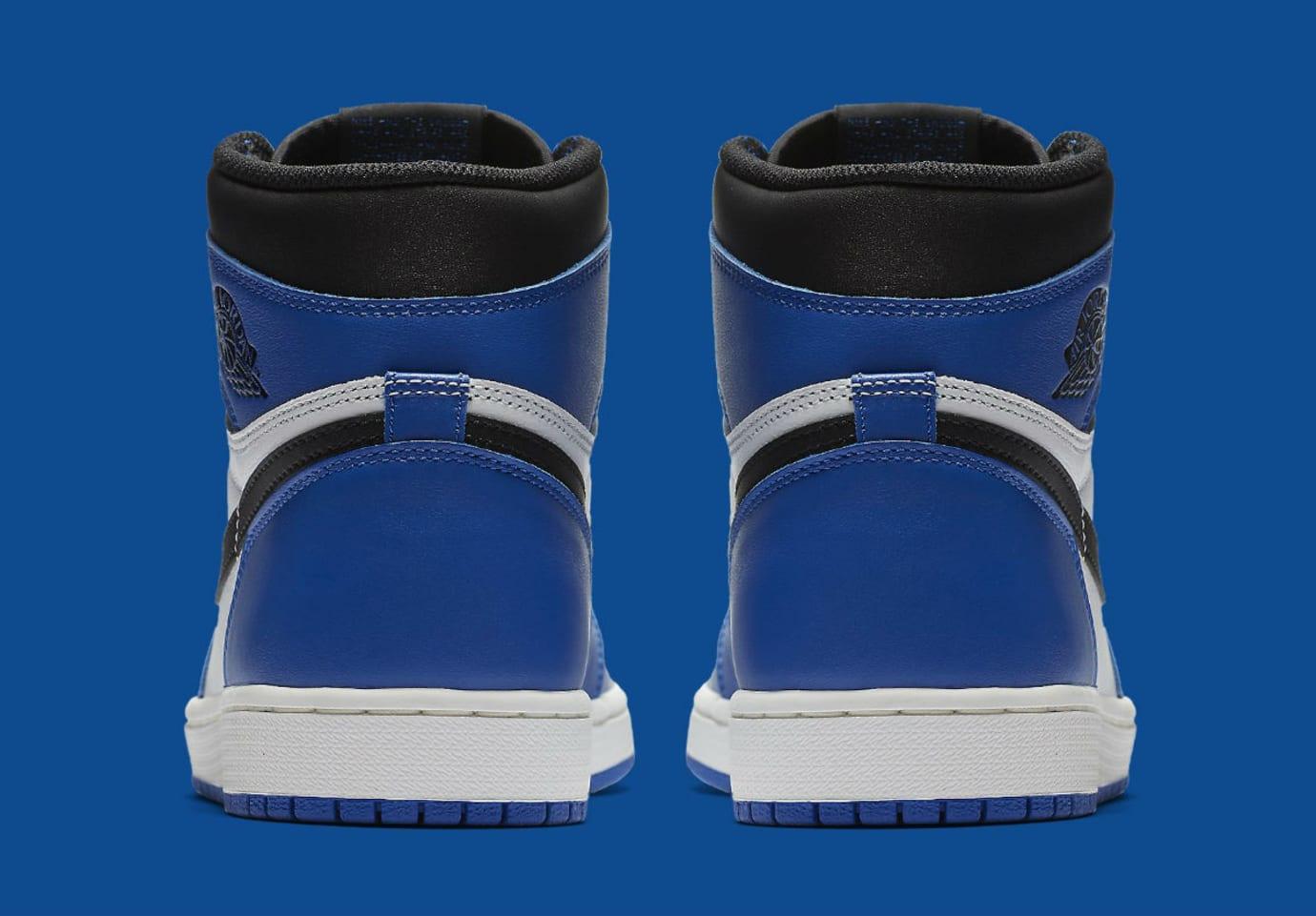 Air Jordan 1 High Game Royal Release Date 555088-403 Heel