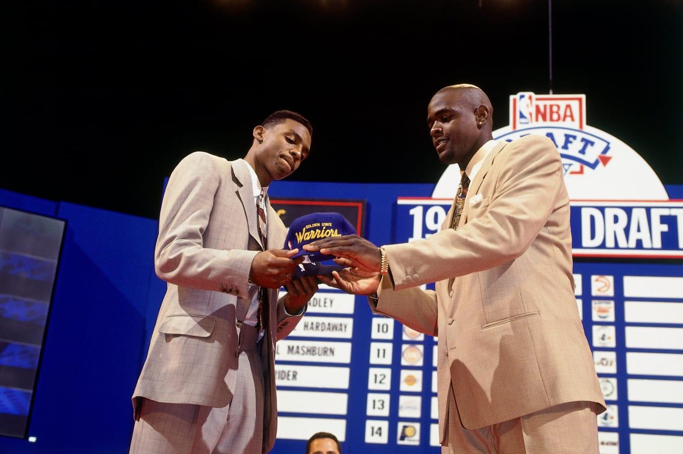 Penny Hardaway & Chris Webber 1993 Draft