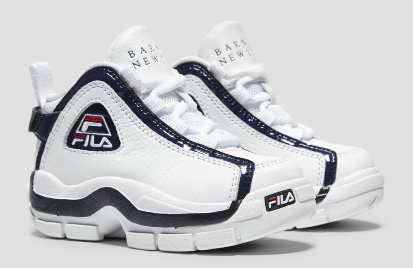 a649754fb34 FILA 96 Grant Hill II 2 Barney's Haus of Jr. Release Date | Sole ...