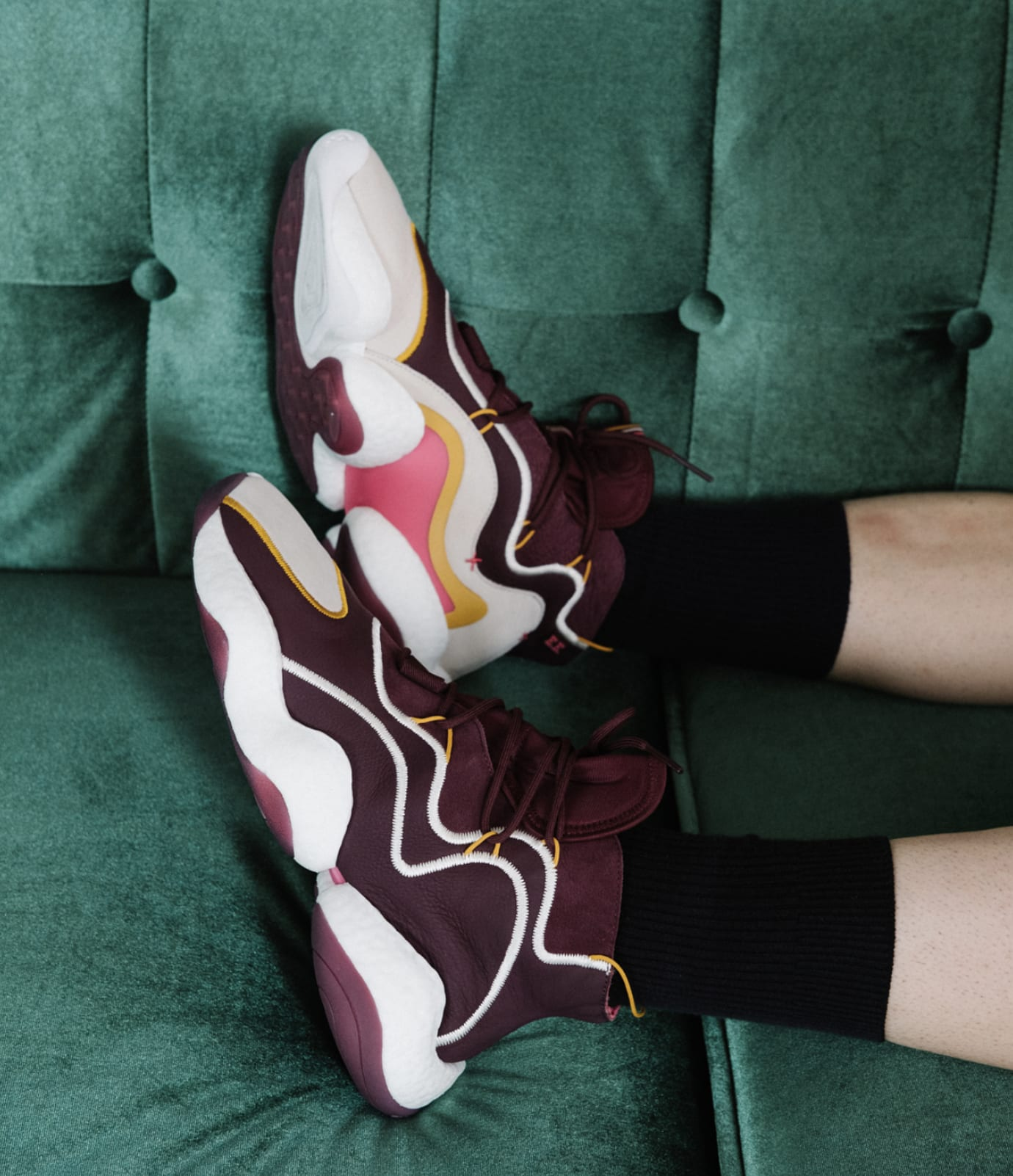 57c6aba54afe4 Eric Emanuel x Adidas Crazy BYW Sneaker Collab Release Date BD7242 ...