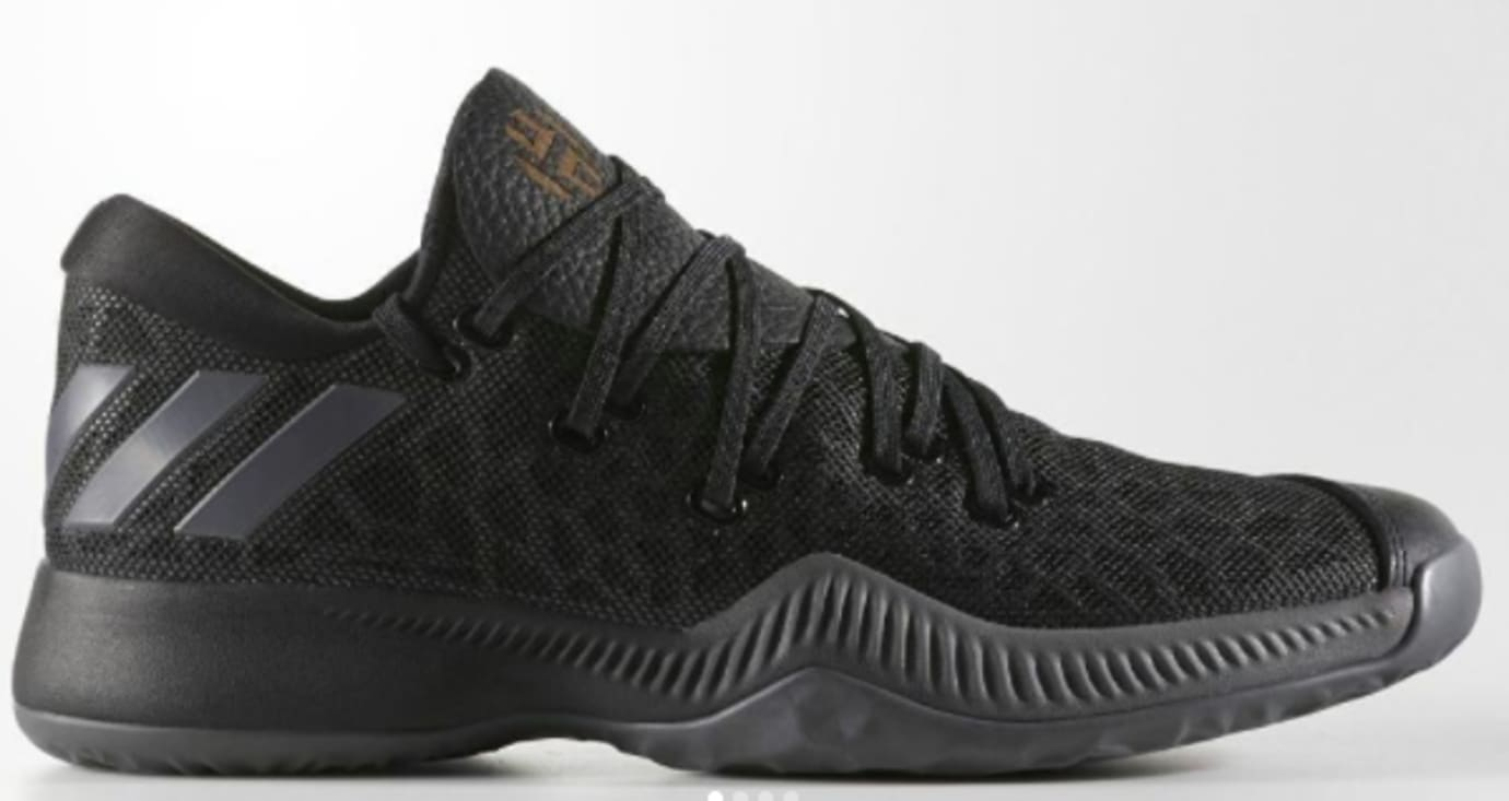 new concept a7314 5f8df Adidas Harden BTE  Black  (Side)