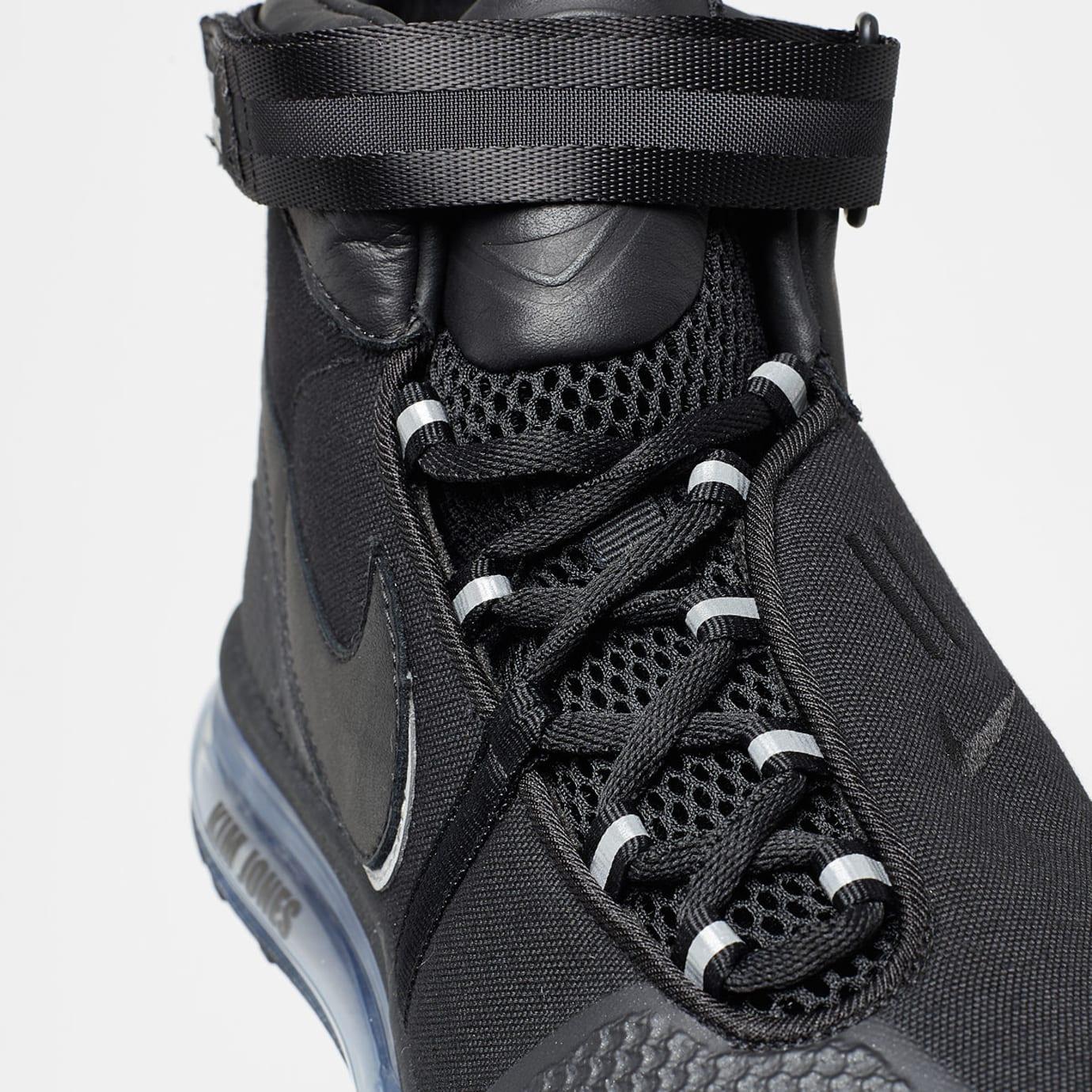 fc8d1f4cd Image via Solebox · Kim Jones x NikeLab Air Max 360 HI/JK 'Black' AO2313-001