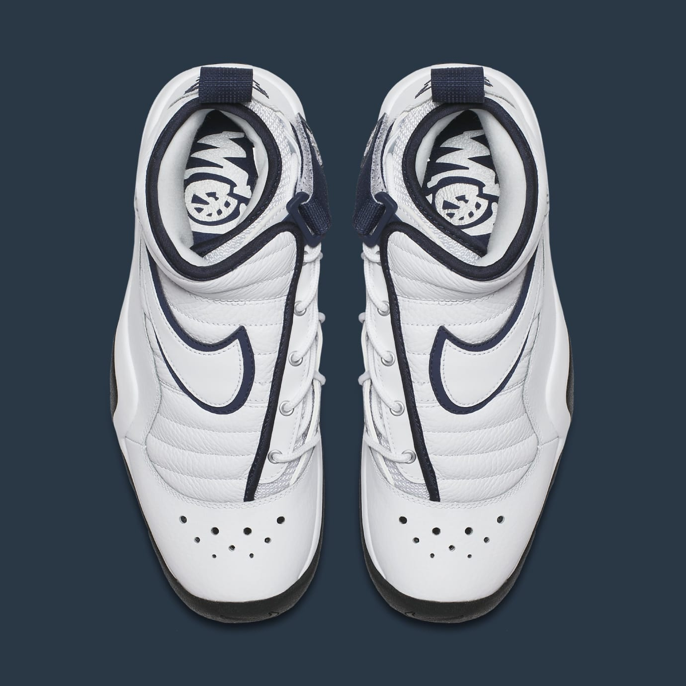 Nike Air Shake Ndestrukt 880869-102 White Navy Top