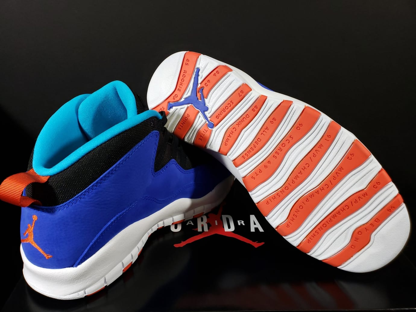 Air Jordan 10 X Tinker Release Date 310805-408 Sole
