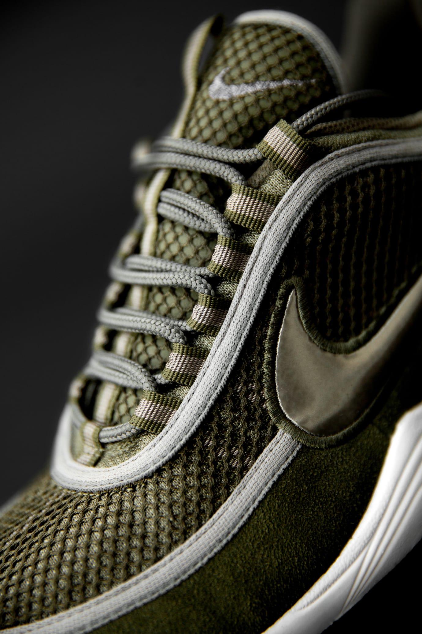 size? exclusive Nike Zoom Spiridon 'Olive' (Tongue)