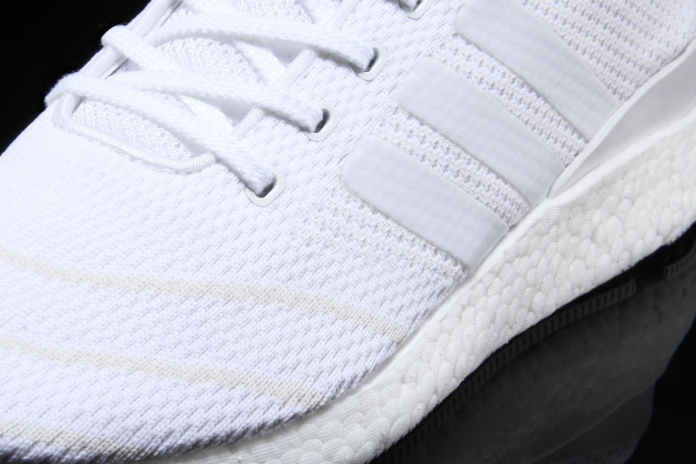 Adidas Busenitz Pure Boost Triple White Detail