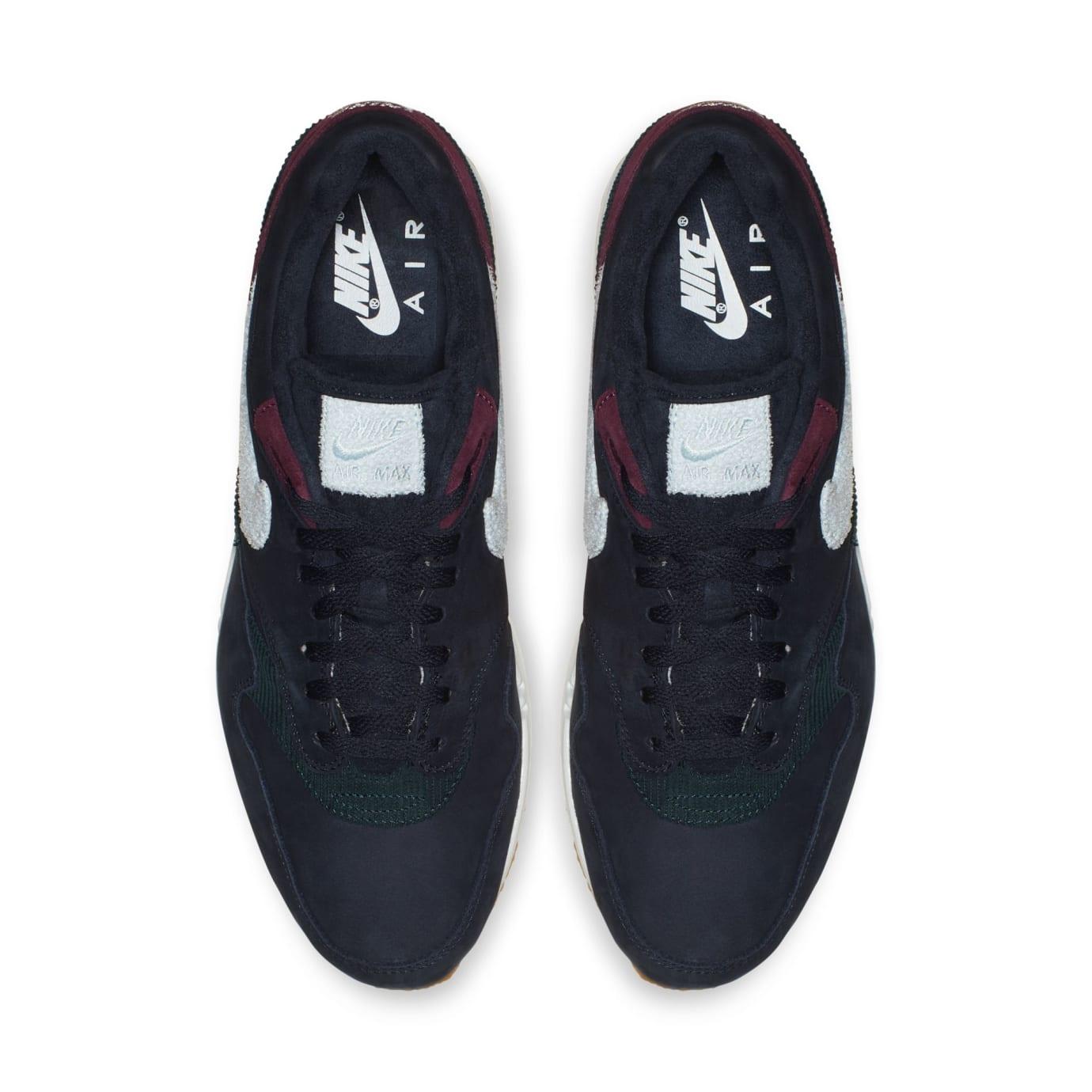 Nike Air Max 1 'Dark Obsidian/Cobalt Tint-Ocean Bliss' (Top)