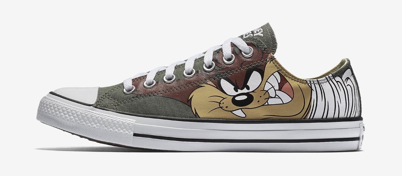 235f33feb142e7 Image via Nike Taz Converse Sneakers Image via Nike. Tags. ○ Converse Chuck  Taylor All Star  ○ Converse  ○ Looney Tunes ...