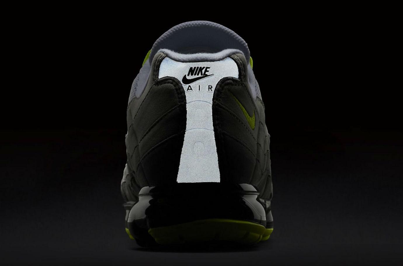 Nike Air VaporMax 95 Black Volt Medium Ash Dark Pewter Dusk Granite Release Date AJ7292-001 3M