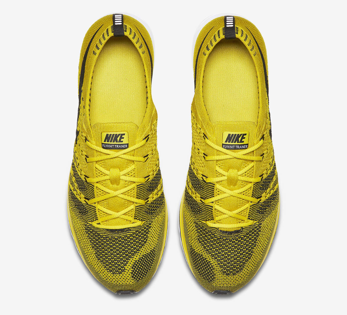 Nike Flyknit Trainer Citron ah8396-700 Top