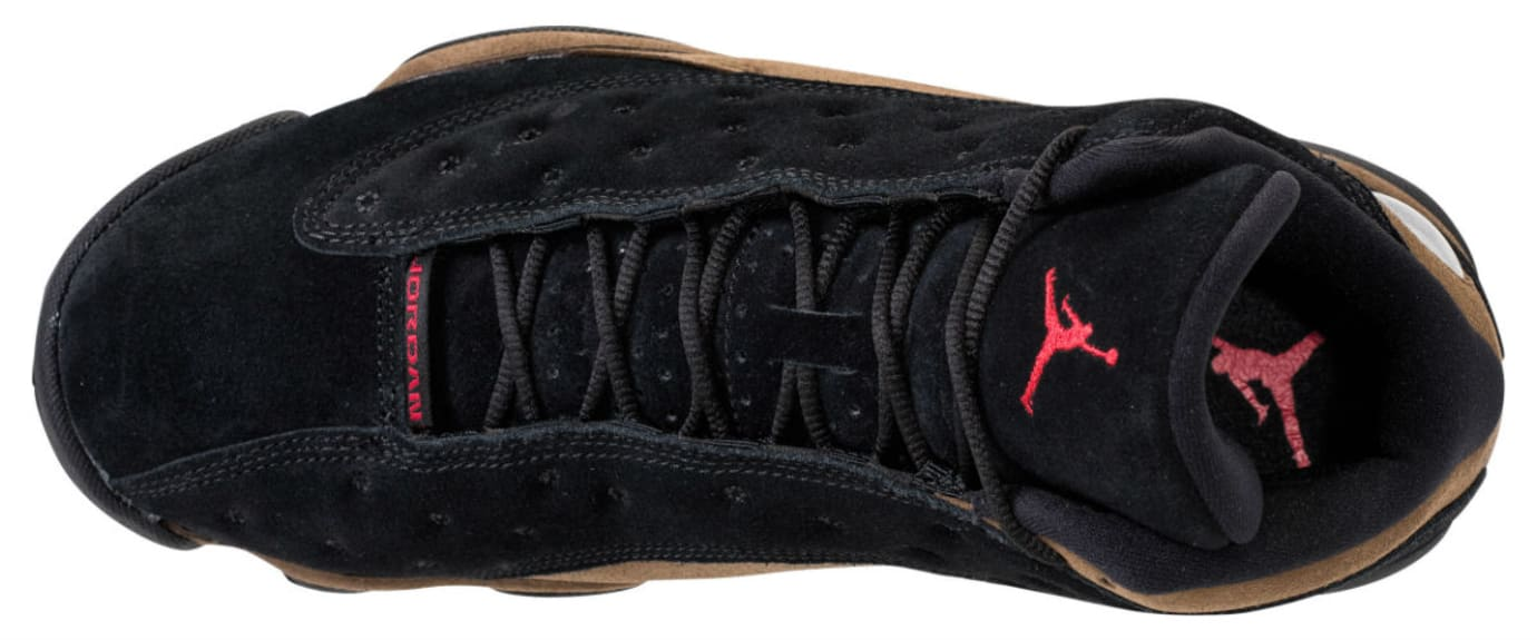 Air Jordan 13 XIII Olive Release Date 414571-006 Top