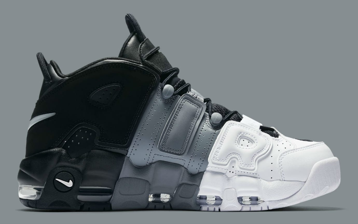 Nike Air More Uptempo Tri-Color Release Date Medial 921948-002