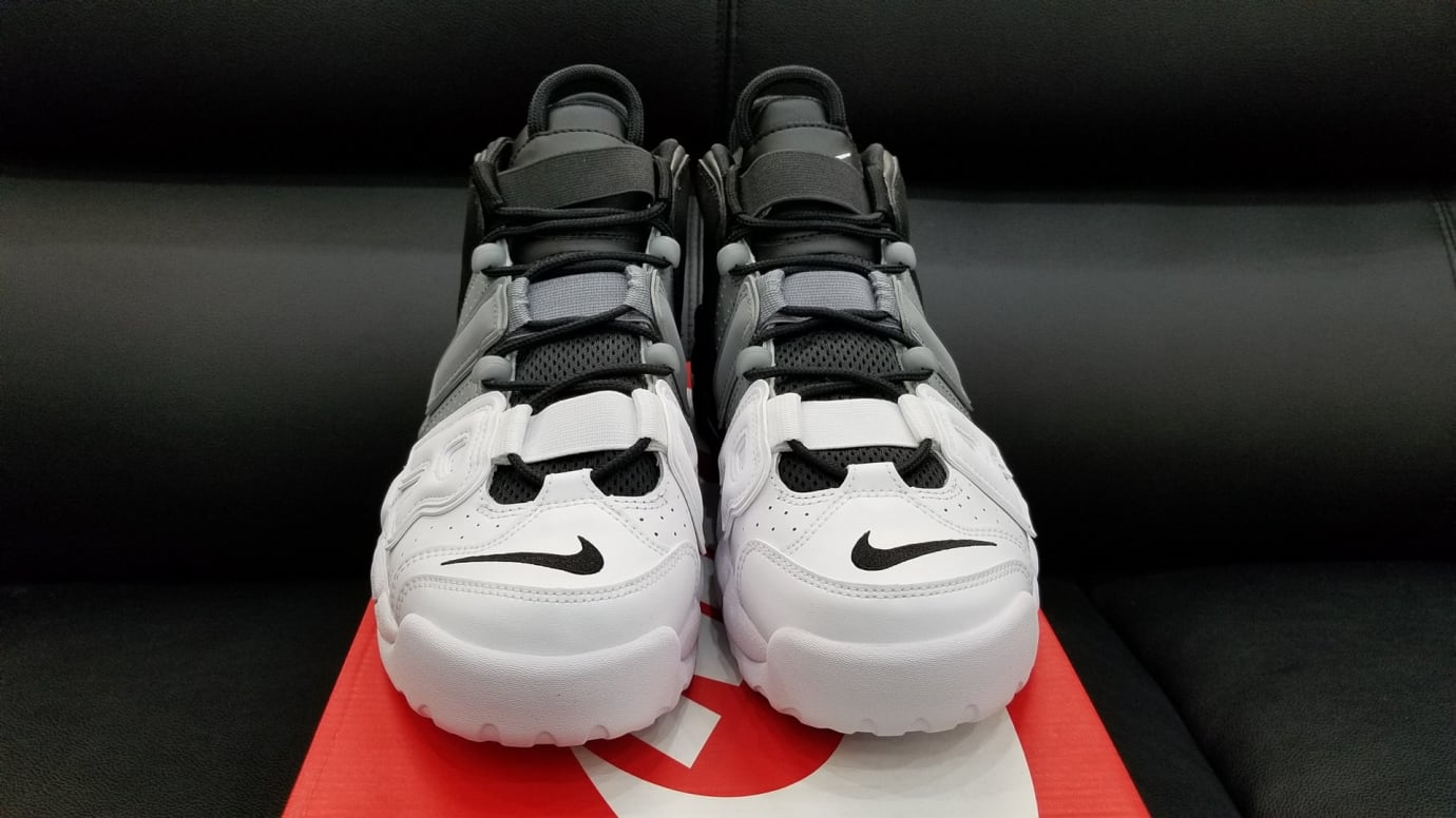 Nike Air More Uptempo Tri-Color Black Grey White Release Date Front 921948 002