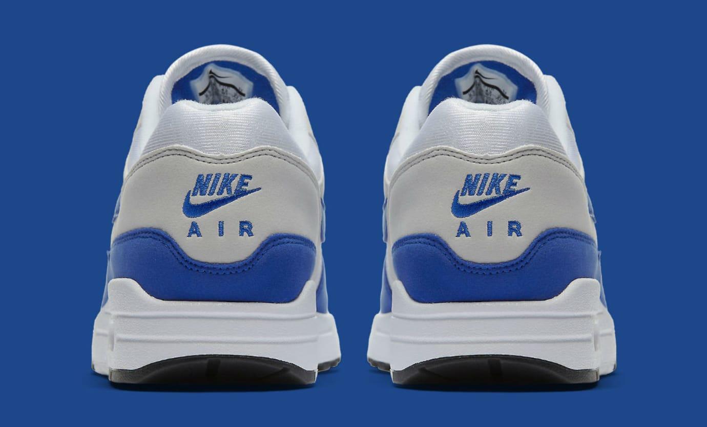 Nike Air Max 1 Anniversary Royal Release Date Heel 908375-101
