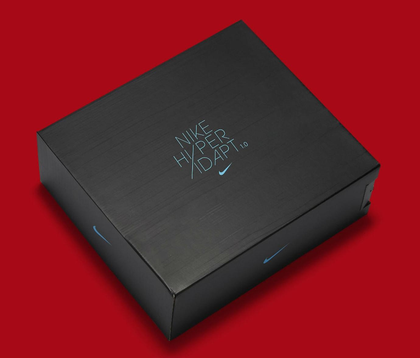 Nike HyperAdapt 1.0 Habanero Red Release Date 843871-600 Box