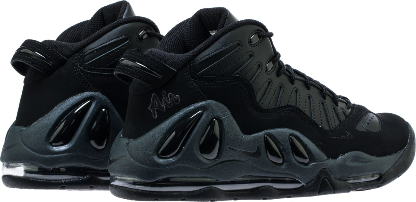 6b408e188d0791 Image via Shoe Palace Nike Air Max Uptempo 97  Triple Black  399207-005 Heel