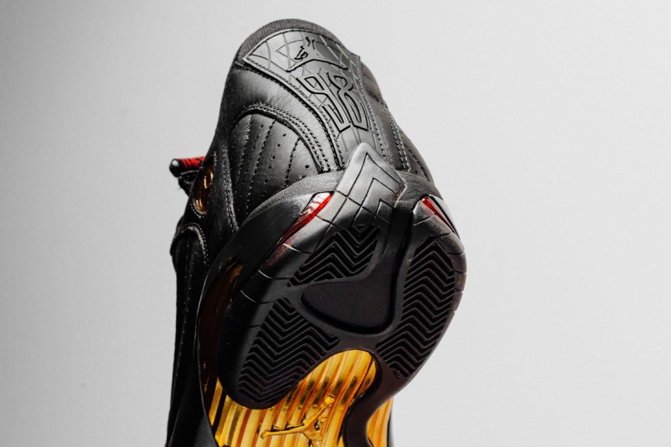 Jordan 14 DMP Heel
