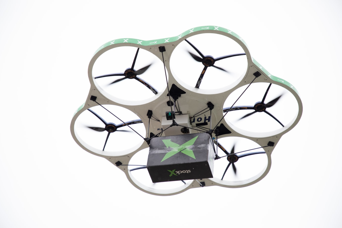 StockX Delivered Sneakers With a Drone | Sole Collector