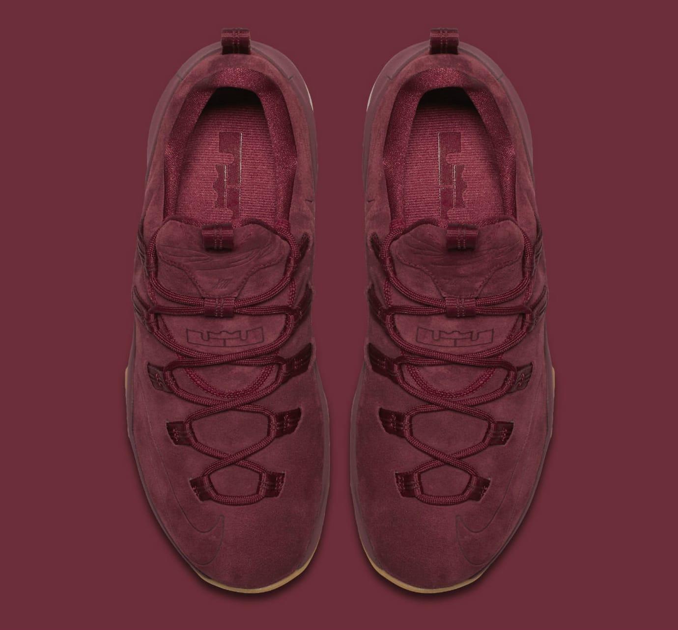 brand new d5e9a 5b9de Nike LeBron 13 Low Premium Team Red Release Date Top AH8289-600