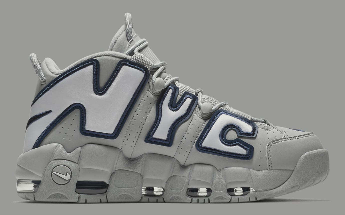 Nike Air More Uptempo NYC Release Date AJ3137-001 Medial