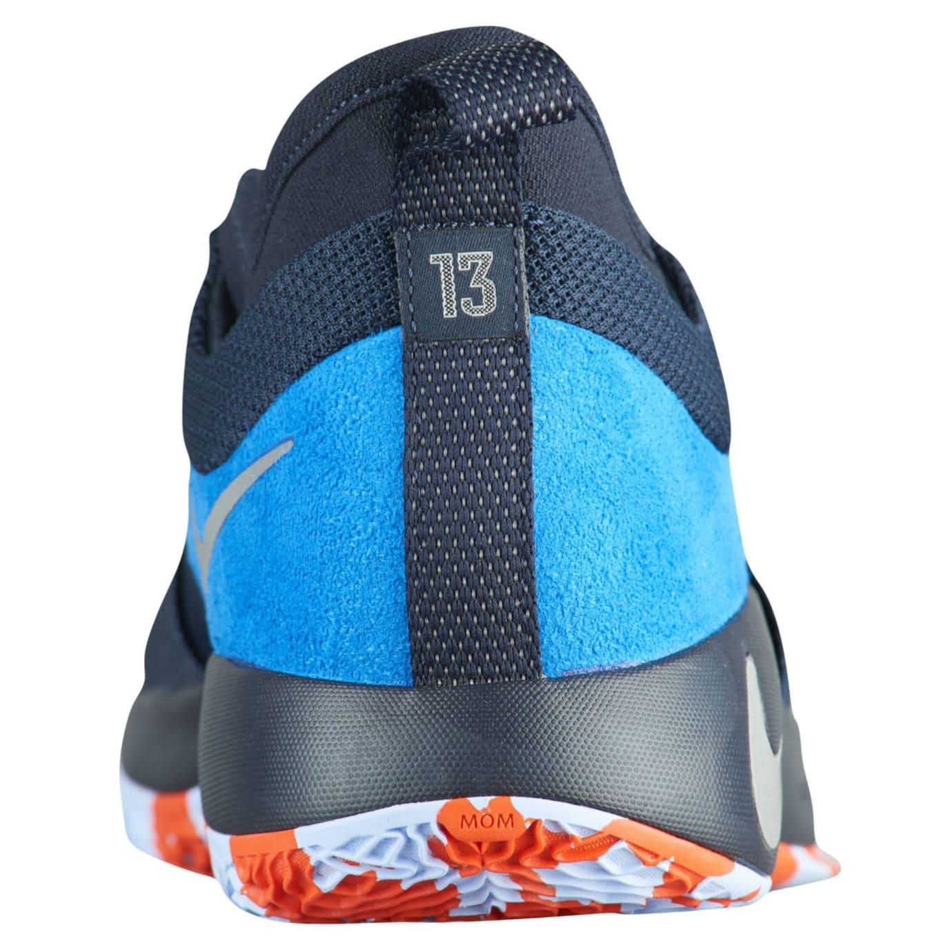 Nike PG2 Home Obsidian Release Date AJ2039-400 Heel