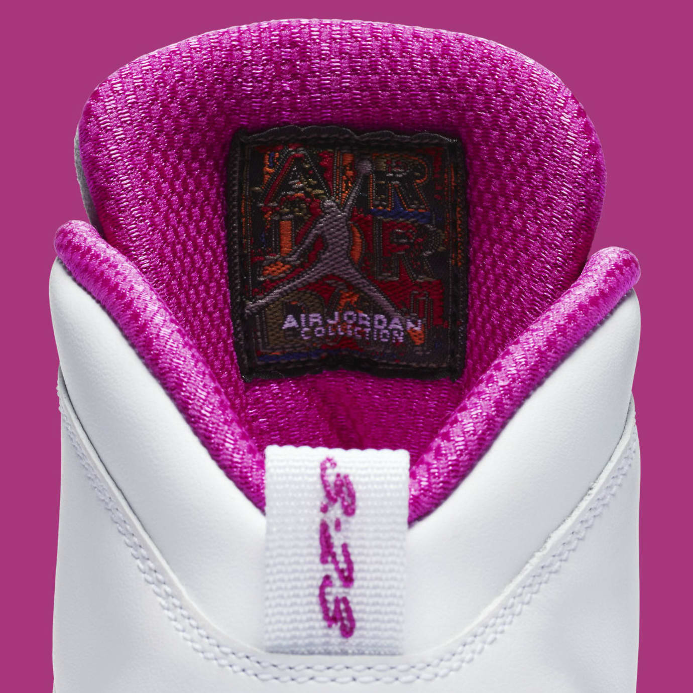 Air Jordan 10 X Maya Moore PE Release Date Tongue AA2900-159