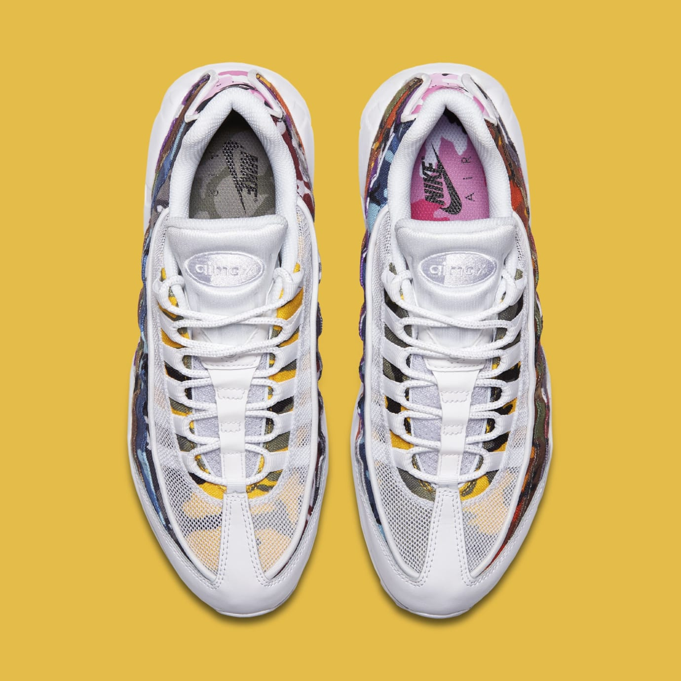 0332173cb8 Nike Air Max 95 ERDL Party Multi Color Camp White Black | Sole Collector