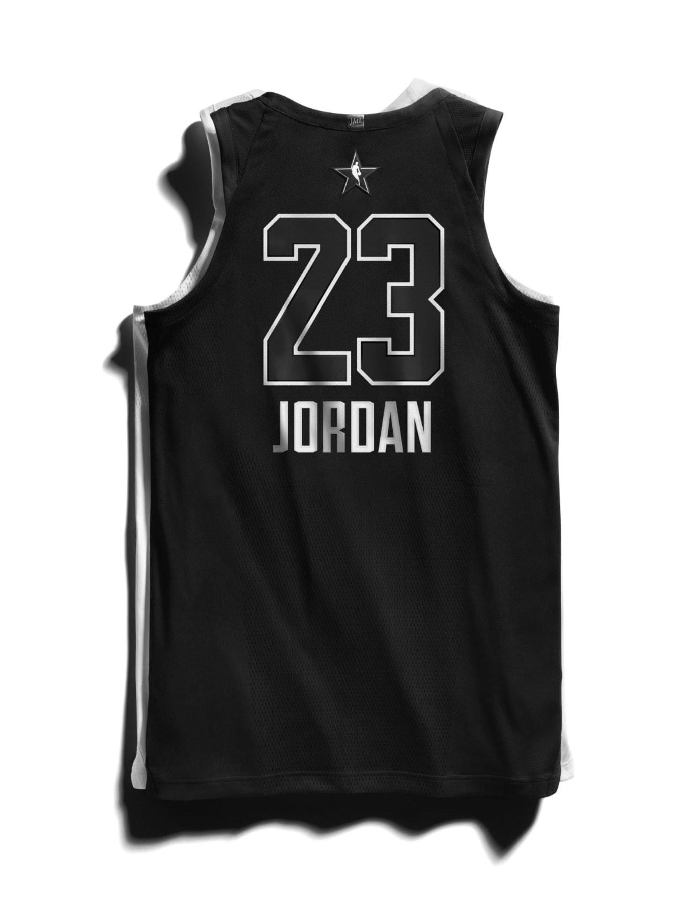 Jordan Brand 2018 NBA All-Star Jerseys Back