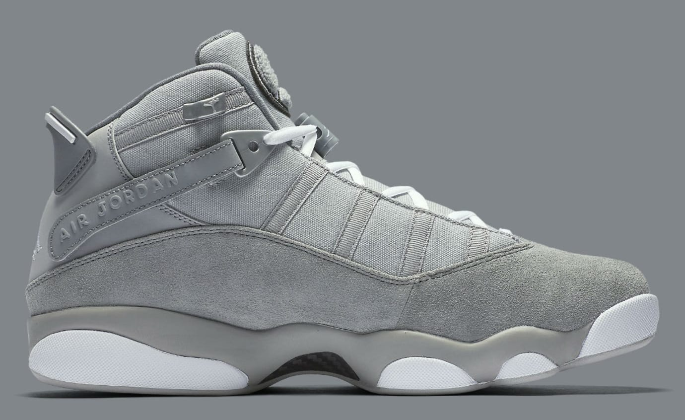 Jordan 6 Rings 2017 Cool Grey Release Date Medial 322992-014