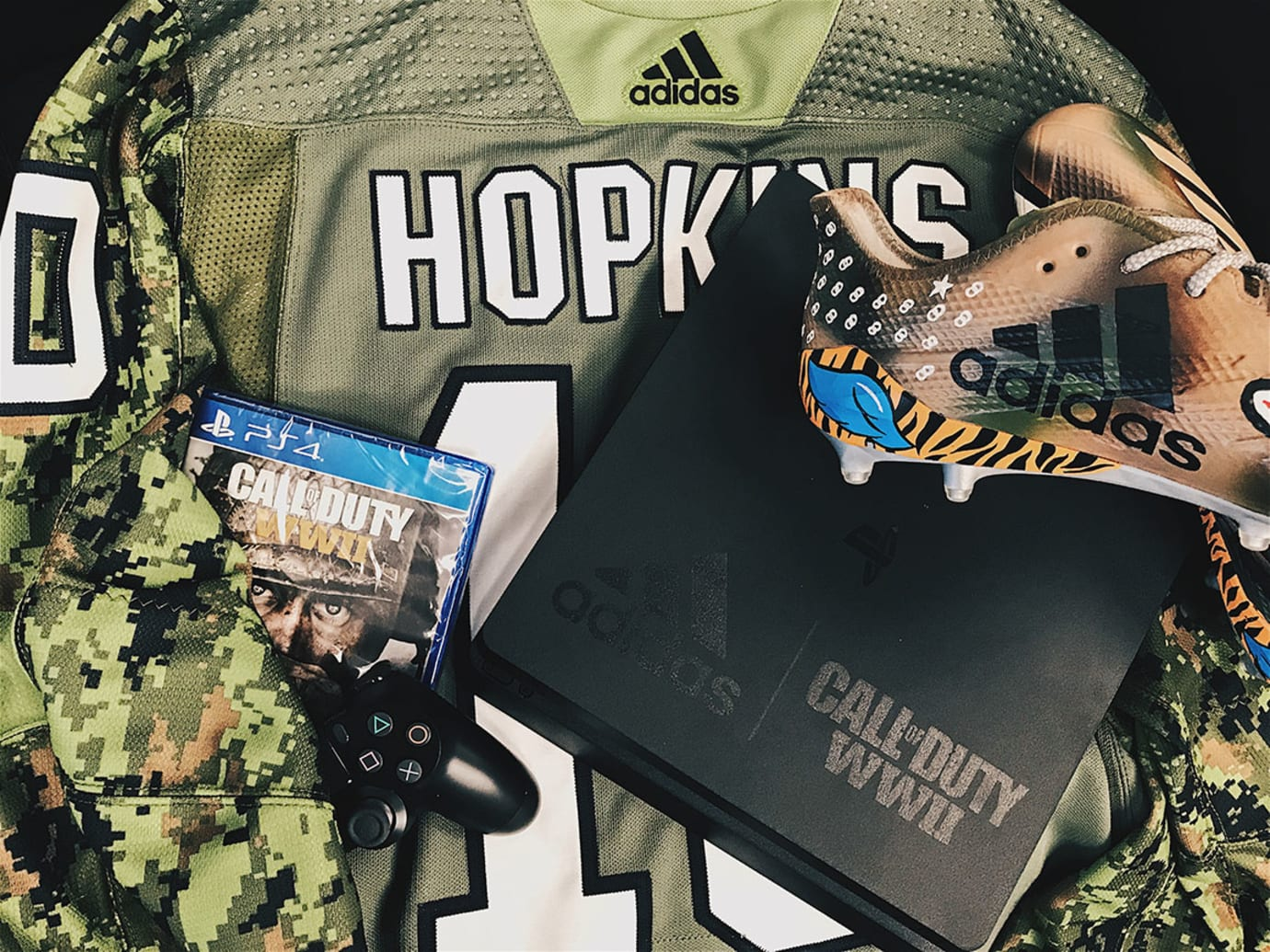 Adidas Call of Duty Cleats DeAndre Hopkins