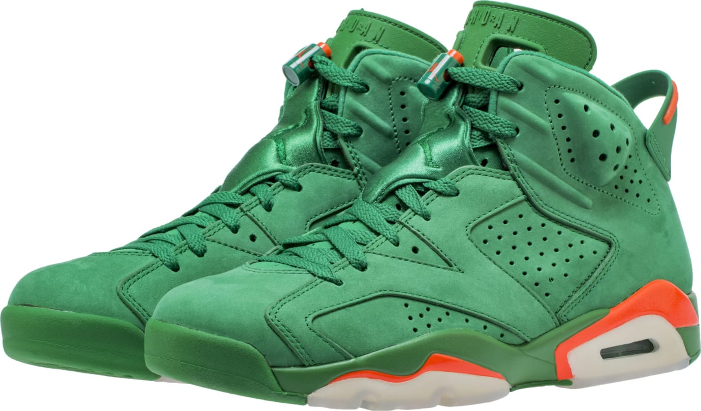 25a11421d94b21 Air Jordan 6 VI Gatorade Green Release Date AJ5986-335 Front