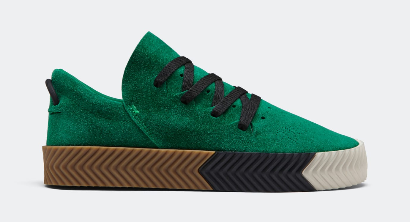 Adidas AW Skate Wang Green Profile