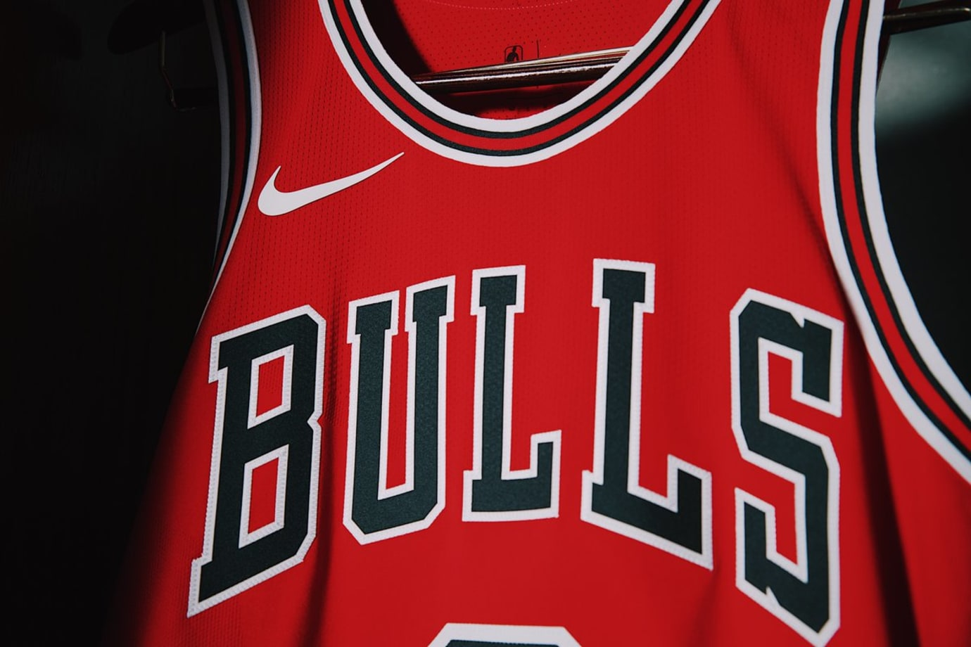 Chicago Bulls Nike Jersey Home Front