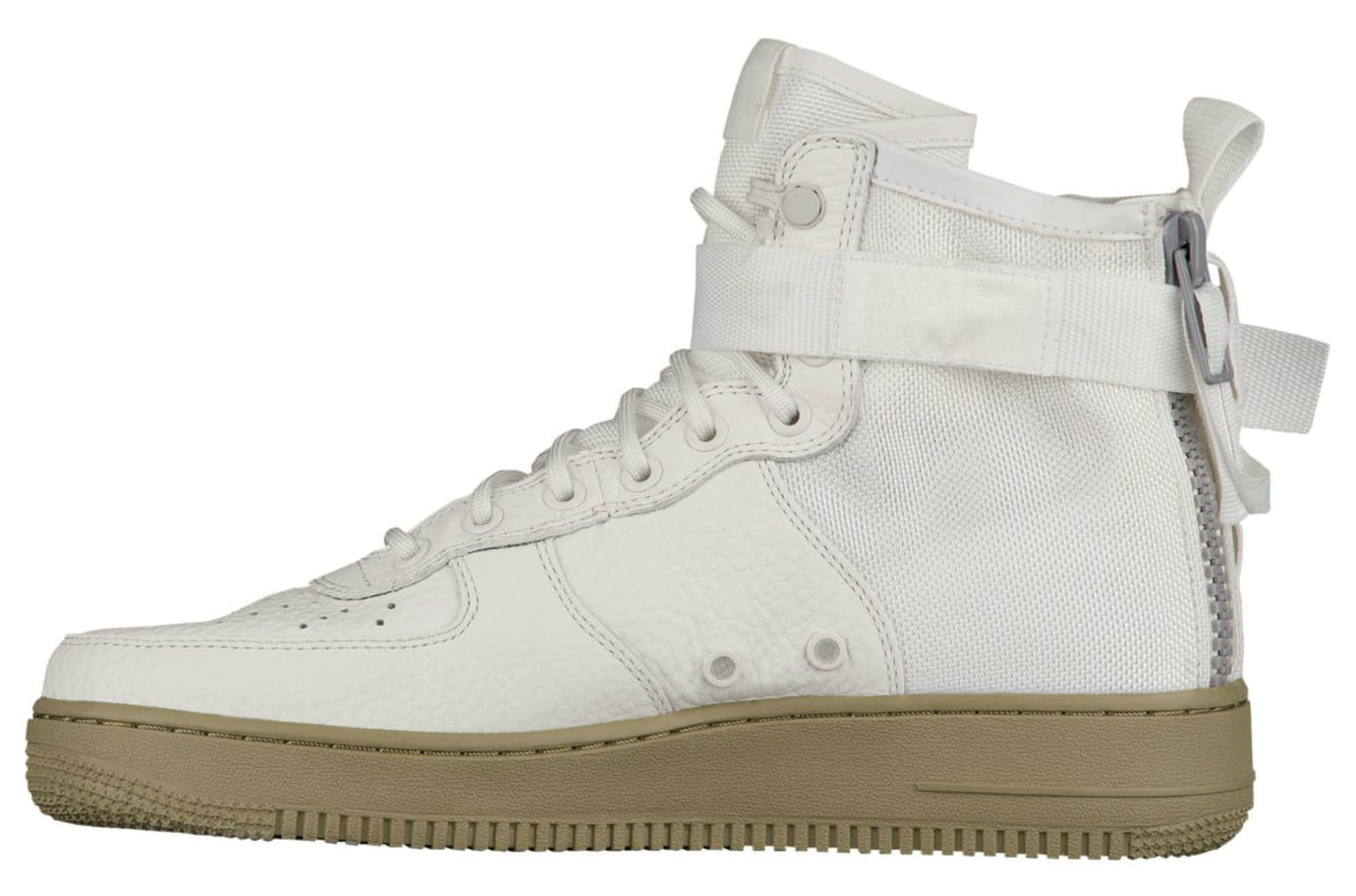 Nike SF Air Force 1 Mid Ivory Neutral Release Date Medial 917753-101
