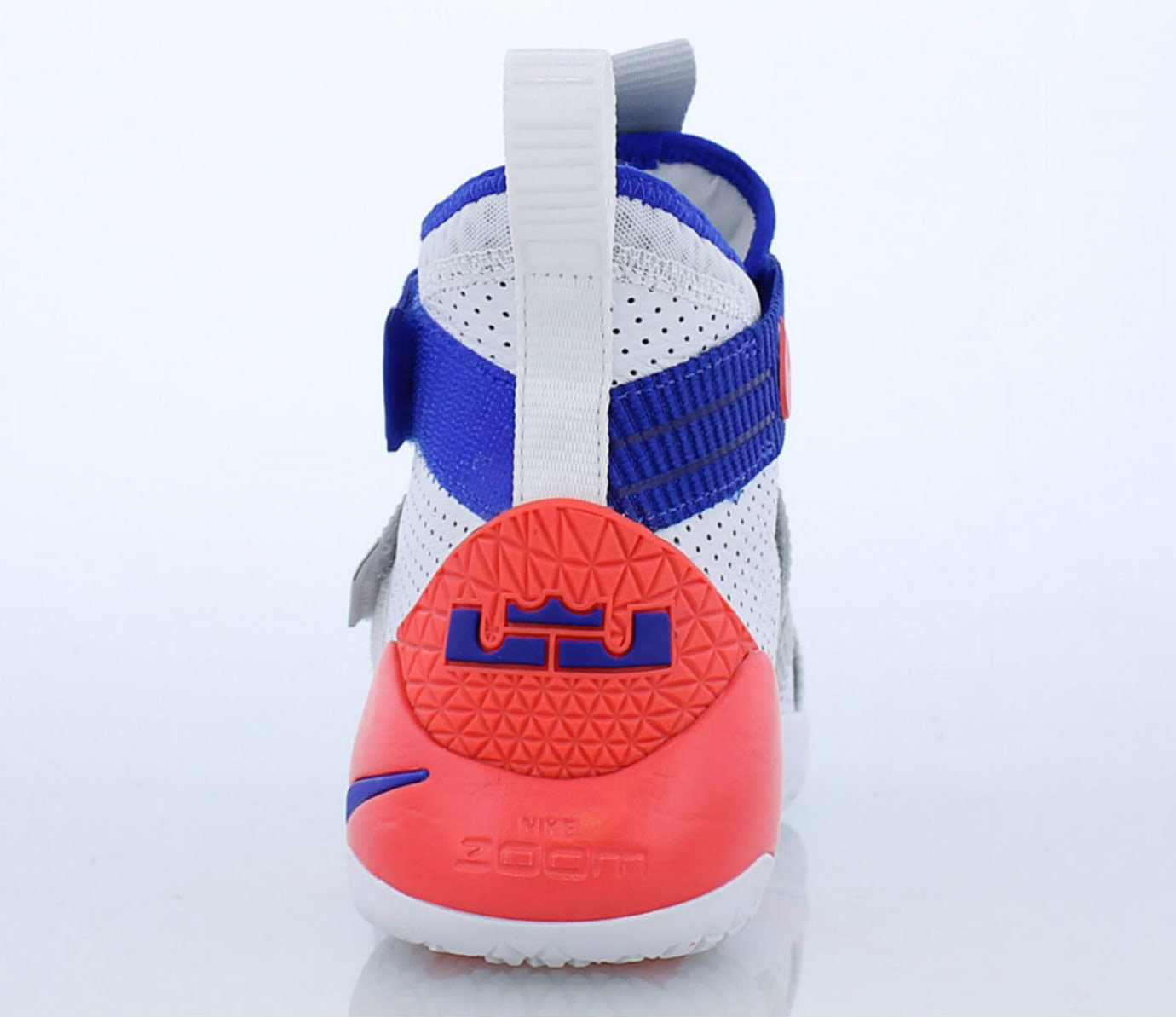 Nike LeBron Soldier 11 Ultramarine Release Date 897646-101 Heel