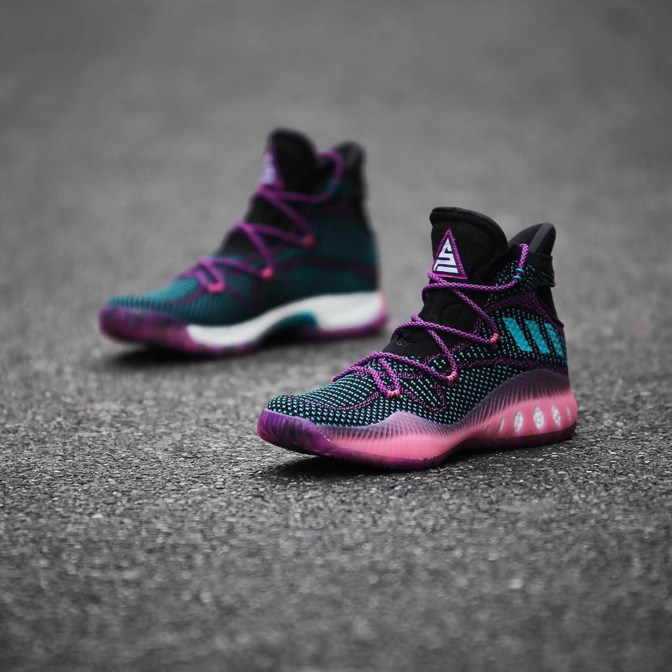 new concept 8002d 9619a Swaggy P Adidas Crazy Explosive Black Pink PE (5) ...