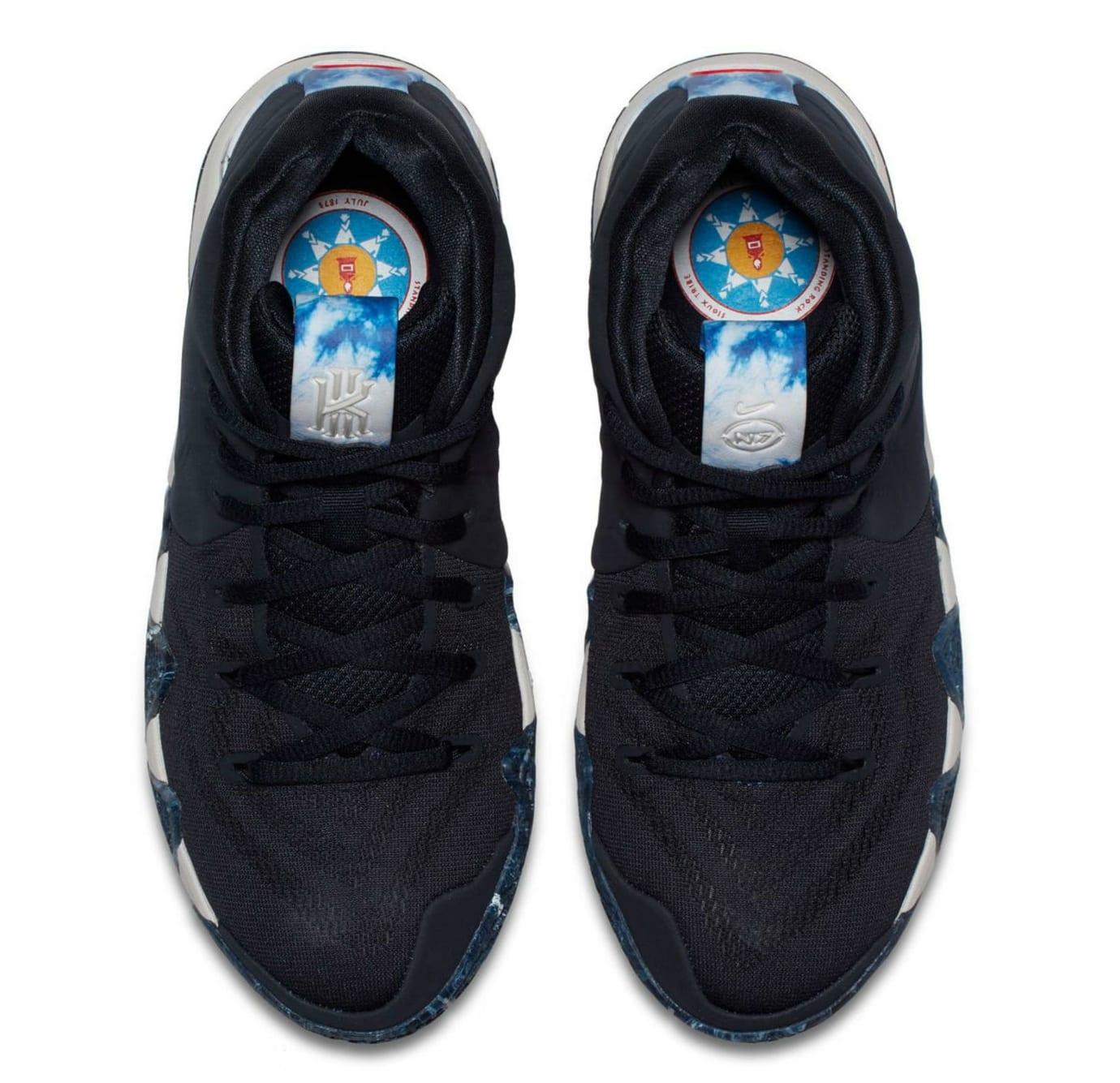 f8c7c291045b Image via Hibbett Sports Nike N7 Kyrie 4 GS Release Top