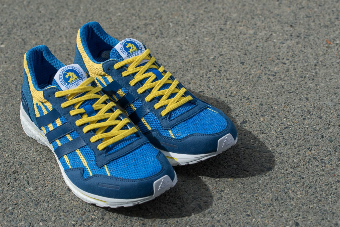 Adidas Adizero Adios Boston Marathon 2017 Front